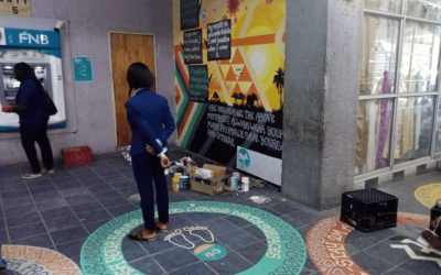 Circle nudges and a new mural